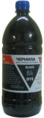 Чернила LOMOND LE08-010Bk NEW Black, 1000мл, код 0205669 NEW