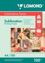 Бумага для сублимационной печати Lomond 100г/м, А4/100 листов, код 0809413